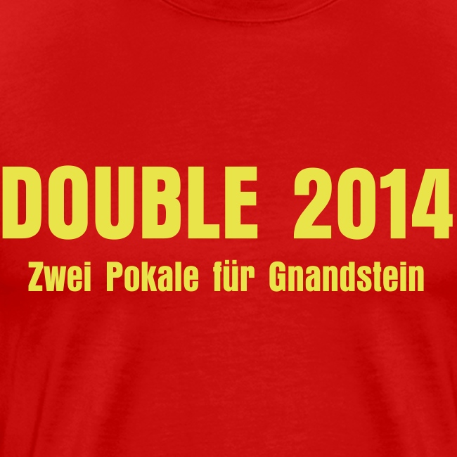 "Double-Shirt ""Zwei Pokale"""