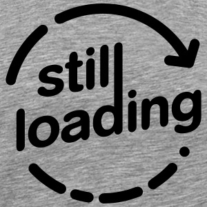 Still Loading charging Arrow T-Shirts - Men's Premium T-Shirt