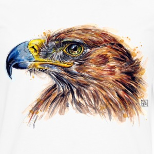 White eagle painting Long sleeve shirts - Men's Premium Longsleeve Shirt