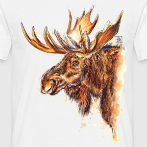 SM Elch | moose T-Shirts - T-shirt Homme