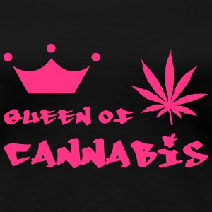 Queen of Cannabis T-shirts - Dame premium T-shirt