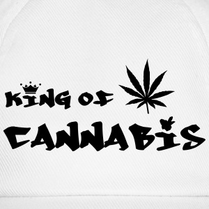 King of Cannabis Kasketter & Huer - Baseballkasket