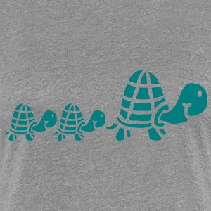 Sweet cute turtles family T-Shirts - Women's Premium T-Shirt