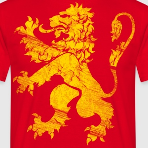Lion Rampant, Or T-Shirts - Men's T-Shirt