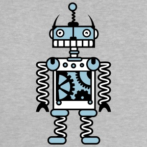 A robot with gear wheels  Shirts - Baby T-Shirt