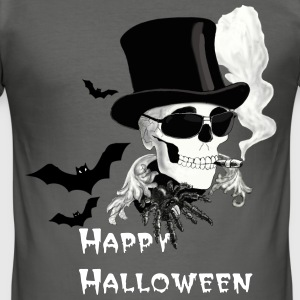 Halloween T-shirts - Slim Fit T-shirt herr