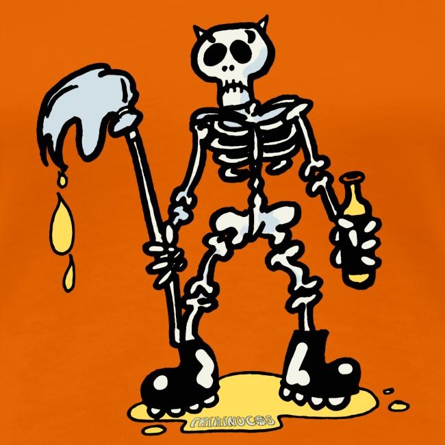Camiseta mujer Skeleton