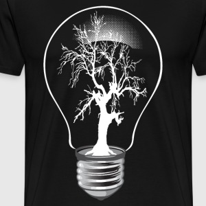 Lightning tree - Männer Premium T-Shirt