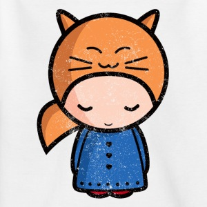 kawaii sarah worn out  Shirts - Teenage T-shirt