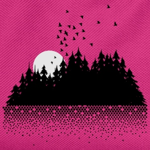 Forest, lake, moon and birds  Bags & Backpacks - Kids' Backpack