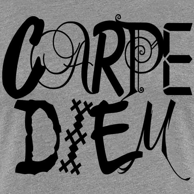 Camisetas Originales Mujer Camiseta Con Frase Carpe Diem Vrouwen