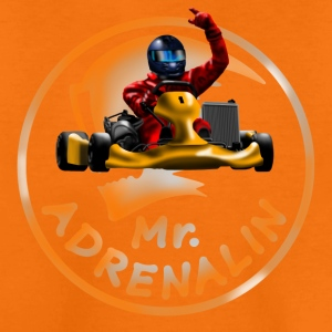 Karting Mr. Adrenalin Shirts - Teenage Premium T-Shirt