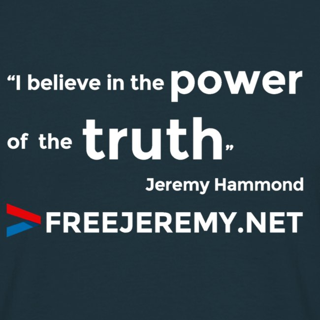 Jeremy Truth Quote Men's T-Shirt
