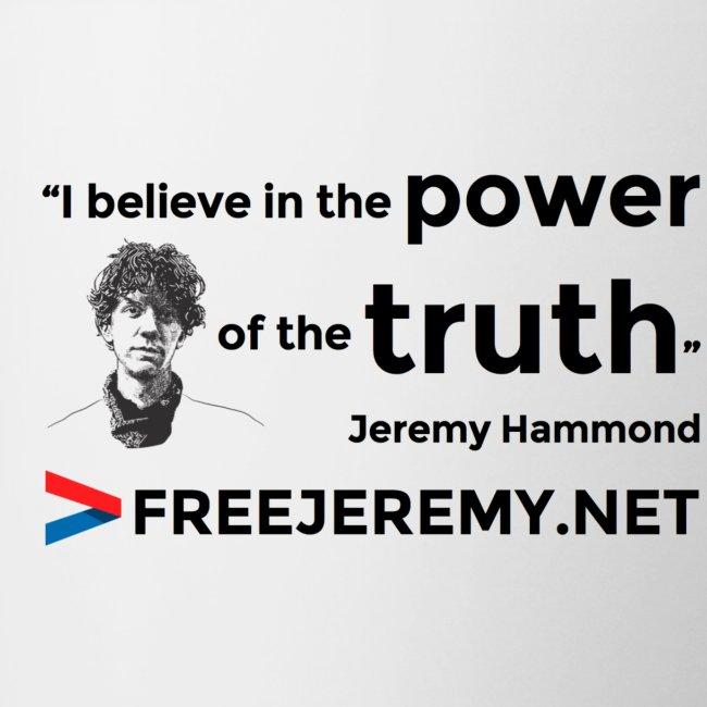 Jeremy Truth Quote Mug