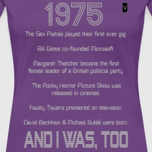 1975 39th / 40th Birthday - Women's Premium T-Shirt