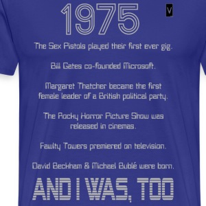 1975 39th / 40th Birthday - Men's Premium T-Shirt