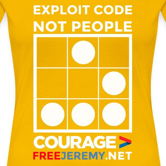 Free Jeremy Hacktivist Women's T