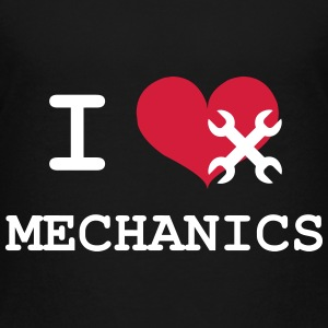 I Love Mechanics Shirts - Teenage Premium T-Shirt