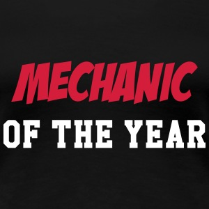 Mechanic of the Year T-Shirts - Frauen Premium T-Shirt