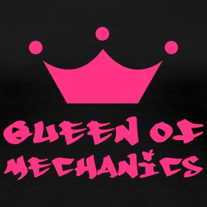Queen of Mechanics T-Shirts - Frauen Premium T-Shirt
