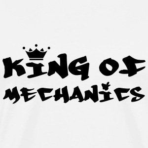 King of Mechanics Koszulki - Koszulka męska Premium