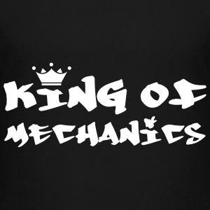 King of Mechanics T-shirts - Teenager premium T-shirt