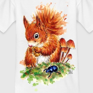SM Eichhörnchen | squirrel T-Shirts - Kids' T-Shirt