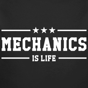 Mechanics is life Hoodies - Longlseeve Baby Bodysuit