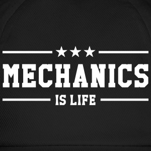 Mechanics is life Caps & Hats - Baseball Cap