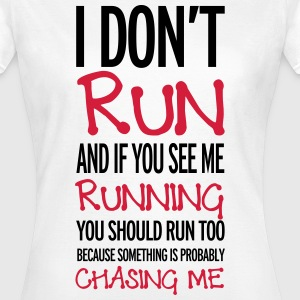 Run T-shirts - Vrouwen T-shirt