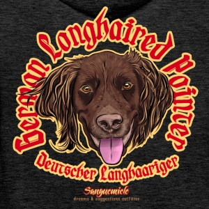 german longhaired pointer Pullover & Hoodies - Männer Premium Hoodie