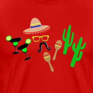 mexico! - Men's Premium T-Shirt