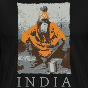 Sadhu India - Men's Premium T-Shirt
