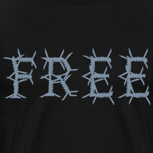 Free barbed wire T-Shirts - Men's Premium T-Shirt