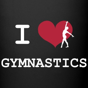 I Love Gymnastics Botellas y tazas - Taza de un color