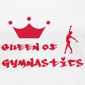 Queen of Gymnastics T-Shirts - Women's Premium T-Shirt