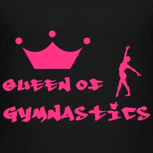 Queen of Gymnastics Shirts - Teenage Premium T-Shirt