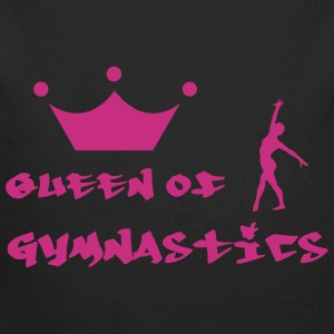 Queen of Gymnastics Sweaters - Baby bio-rompertje met lange mouwen