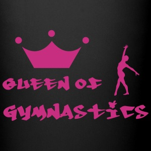 Queen of Gymnastics Flasker & krus - Ensfarvet krus