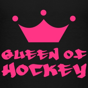 Queen of Hockey Tee shirts - T-shirt Premium Ado