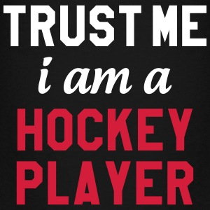 Trust me I am a Hockey Player Shirts - Teenage Premium T-Shirt