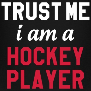 Trust me I am a Hockey Player T-shirts - Børne premium T-shirt