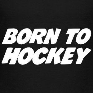 Born to Hockey T-shirts - Premium-T-shirt barn