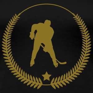 Hockey / Eishockey T-Shirts - Frauen Premium T-Shirt