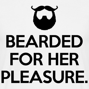 Bearded For Her Pleasure  Koszulki - Koszulka męska