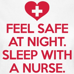 Sleep With A Nurse T-shirts - T-shirt dam