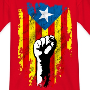 catalunya power Shirts - Teenage T-shirt