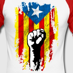 catalunya power Long sleeve shirts - Men's Long Sleeve Baseball T-Shirt