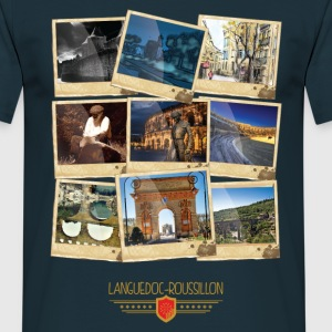 Languedoc-Roussillon Polaroid Tee shirts - T-shirt Homme