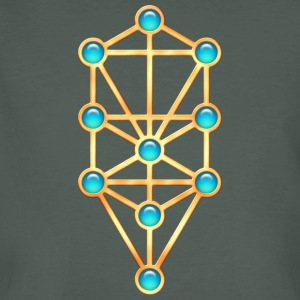 Sephiroth, Kabbalah, Tree of Life, Creation T-Shirts - Men's Organic T-shirt